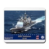 USS Yorktown CG-48 Mousepad