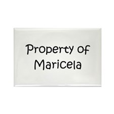 Funny Maricela Rectangle Magnet (10 pack)