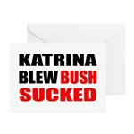 Katrina Blew, Bush Sucked Greeting Cards (Package
