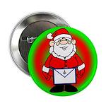 Masonic Santa Button/Ornament
