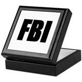 FBI Keepsake Box