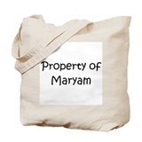 Funny Maryam Tote Bag
