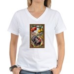 Joyful Thanksgiving Women's V-Neck T-Shirt
