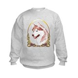 Blue Eye Husky Christmas Sweatshirt