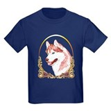 Blue Eye Husky Christmas T