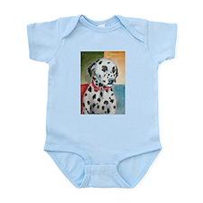 A Dalmatian Infant Creeper