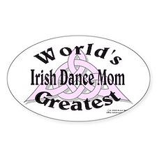 Greatest Mom - Oval Bumper Stickers
