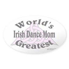Greatest Mom - Oval Decal