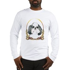 Puppy Shih Tzu Christmas Long Sleeve T-Shirt