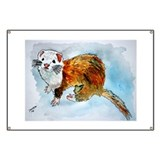ferret pet animal art gift Banner