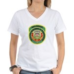 Mississippi Railroads Women's V-Neck T-Shirt