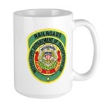 Mississippi Railroads Large Mug