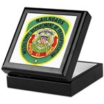 Mississippi Railroads Keepsake Box