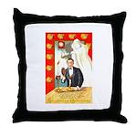 Romantic Thanksgiving Throw Pillow