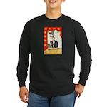 Romantic Thanksgiving Long Sleeve Dark T-Shirt
