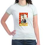 Romantic Thanksgiving Jr. Ringer T-Shirt
