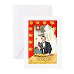 Romantic Thanksgiving Greeting Cards (Pk of 10)