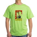 Romantic Thanksgiving Green T-Shirt