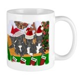 Greyhound Santa Pup Mug