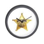 Clark County Sheriff Wall Clock