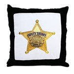 Clark County Sheriff Throw Pillow