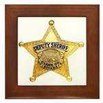 Clark County Sheriff Framed Tile