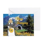 The OES Harvest Greeting Cards (Pk of 10)