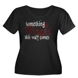 Something Wicked Women's Plus Size Scoop Neck Dark