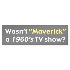 Maverick Bumper Bumper Sticker