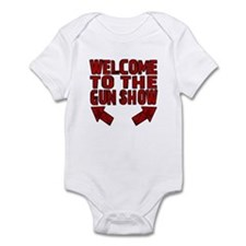 Gun Show Infant Bodysuit