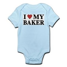 I Love My Baker Infant Creeper