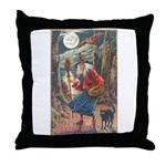 Halloween Hag Throw Pillow