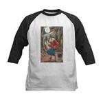 Halloween Hag Kids Baseball Jersey