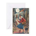 Halloween Hag Greeting Card