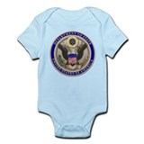 State Dept. Seal Infant Creeper