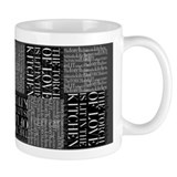 Love in the Kitchen Black/White Small Mug