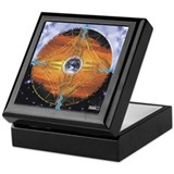 The Web of Life Mandala Keepsake Box