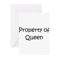Unique Property of queens Greeting Cards (Pk of 20)