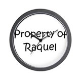 Unique Raquel Wall Clock