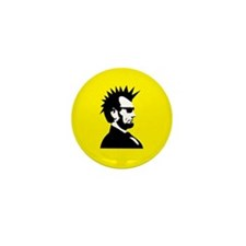 Abraham Lincoln Rocks! Mini Button (10 pack)