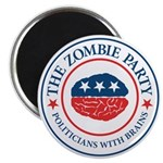 "The Zombie Party 2.25"" Magnet (100 pack)"