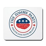 The Zombie Party Mousepad