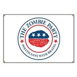 The Zombie Party Banner