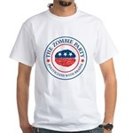 The Zombie Party White T-Shirt
