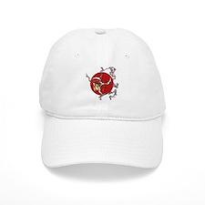 Taiko - God of Thunder - Red Baseball Cap