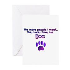 Dogs/Dog Quotes Greeting Cards (Pk of 20)