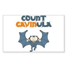 Count Gavinula Rectangle Decal