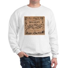 """Whiskey Makes Me Frisky"" Sweatshirt"