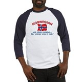 Good Lkg Norwegian 2 Baseball Jersey