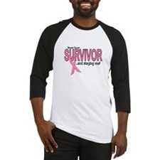 Breast Cancer Survivor Baseball Jersey